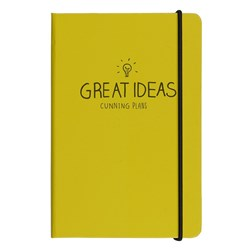 Obrázek Notes A5 Happy Jackson Great Ideas Yellow