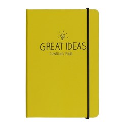 Obrázek Notes A6 Happy Jackson Great Ideas Yellow